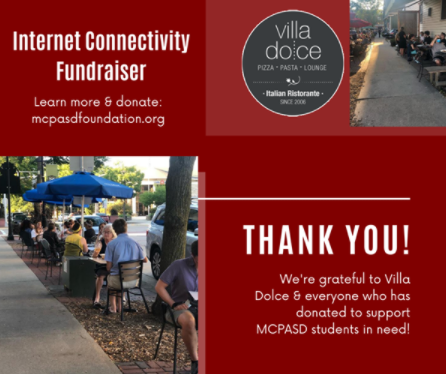 Villa Dolce: Fundraiser for Internet Connectivity on Aug. 18 and 25