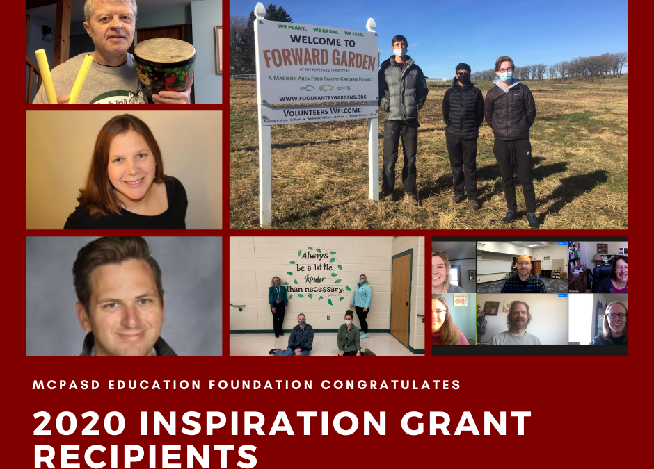 Education Foundation Awards $10,575 in Grants to MCPASD Teachers and Staff