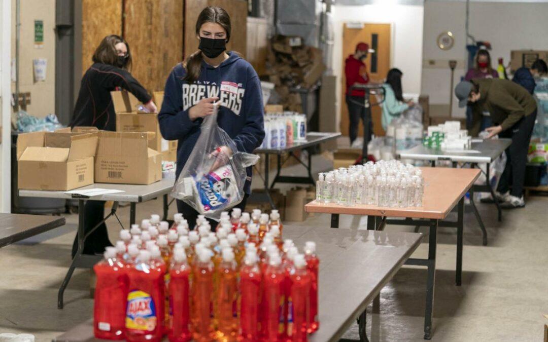 Wisconsin State Journal Features Hygiene Supplies Program