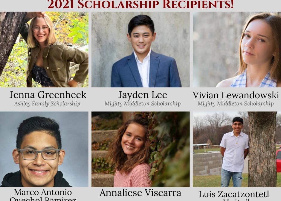 Education Foundation Awards Six Scholarships to MCPASD Seniors